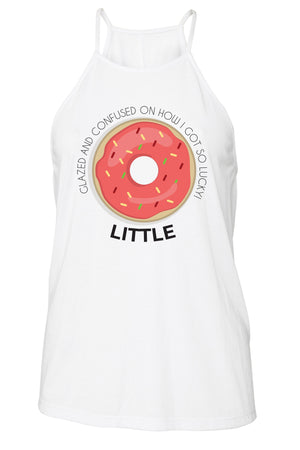 Big Little Donut Tank - Bella Flowy High Neck, Ladies, Sunny and Southern, - Sunny and Southern,