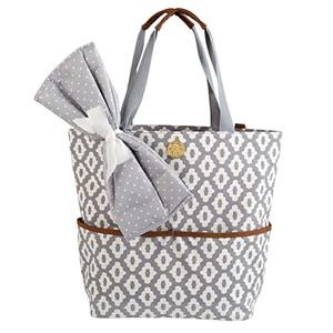 Monogrammed Monogrammed Mud Pie Diaper Tote bag - Sunny and Southern - 1