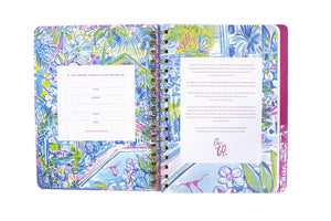 Medium Lilly Pulitzer 2019-2020 Agenda - Wave after Wave, Accessories, Lilly Pulitzer, - Sunny and Southern,