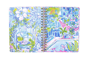 Jumbo Lilly Pulitzer 2019-2020 Agenda - Postcards from Positano, Accessories, Lilly Pulitzer, - Sunny and Southern,