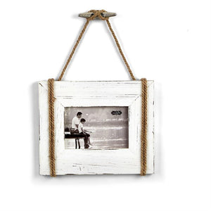 Monogrammed Linen Cleat Hanging Frame, Home, Mud Pie, - Sunny and Southern,