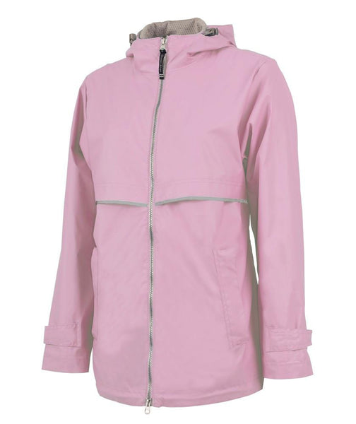 Monogrammed Monogrammed Women's New Englander Rain Jacket - Sunny and Southern - 2