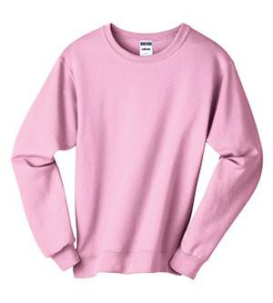Lilly Greek Double Stitch Letters Crewneck Pullover Sweatshirts, Ladies, Sanmar/virg, - Sunny and Southern,