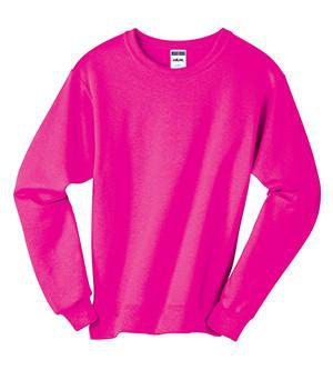 Lilly Circle Monogrammed Crewneck Sweatshirt, ladies, Sanmar/virg, - Sunny and Southern,