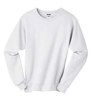 Greek Double Stitch Letters Crewneck Pullover Sweatshirts, Ladies, Sanmar/virg, - Sunny and Southern,