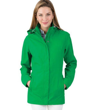 Monogrammed Charles River Logan Jacket, Ladies, Charles River, - Sunny and Southern,