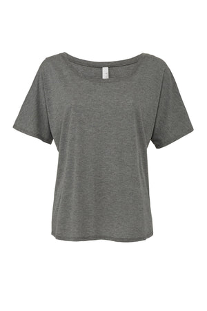 Lilly Greek Double Stitch Bella Canvas Slouchty Tee Scoop Neck, Ladies, Sunny and Southern, - Sunny and Southern,
