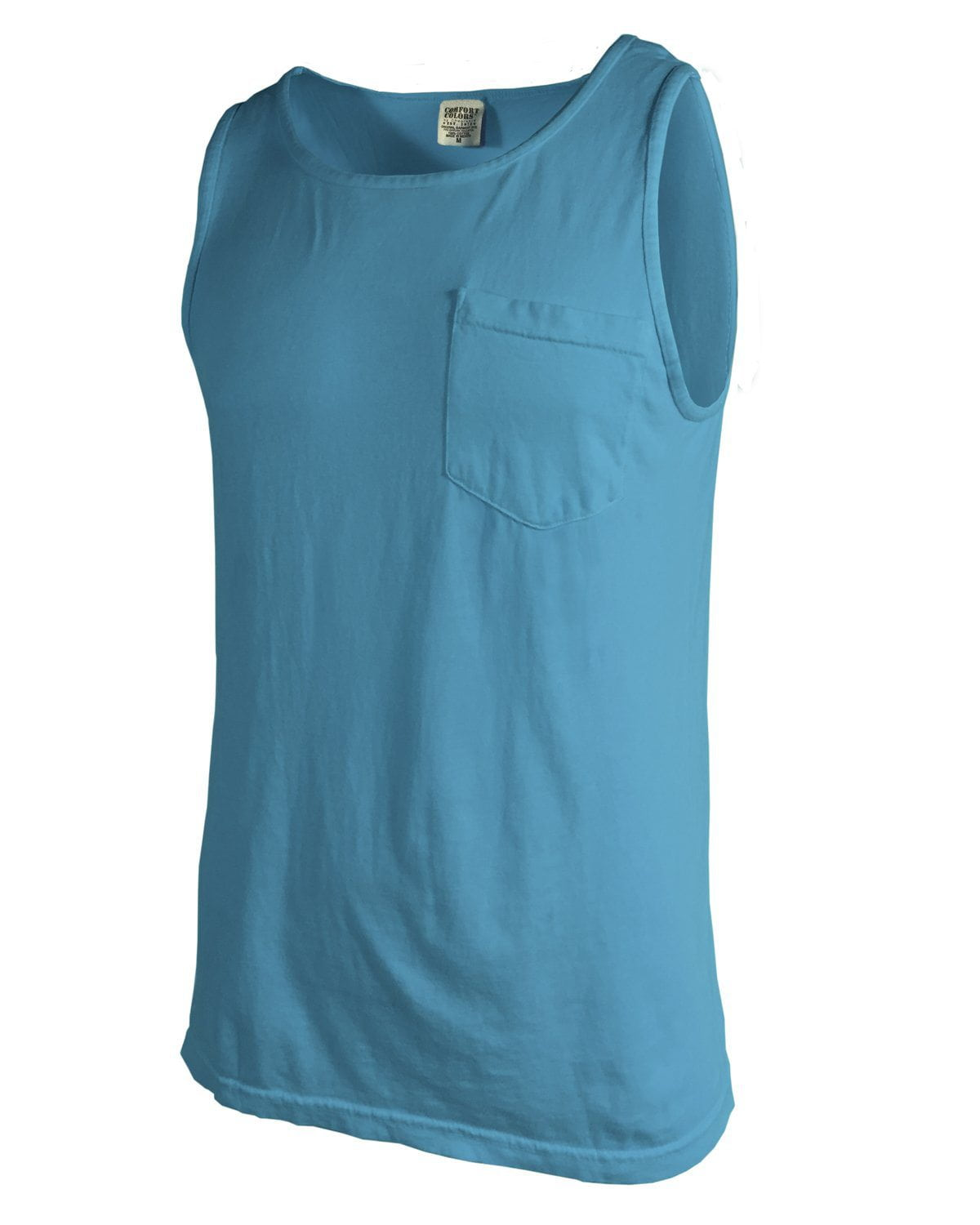331890abf2 Lilly Circle Monogrammed Comfort Colors Tank Top Pocket, ladies, Comfort  Colors, - Sunny