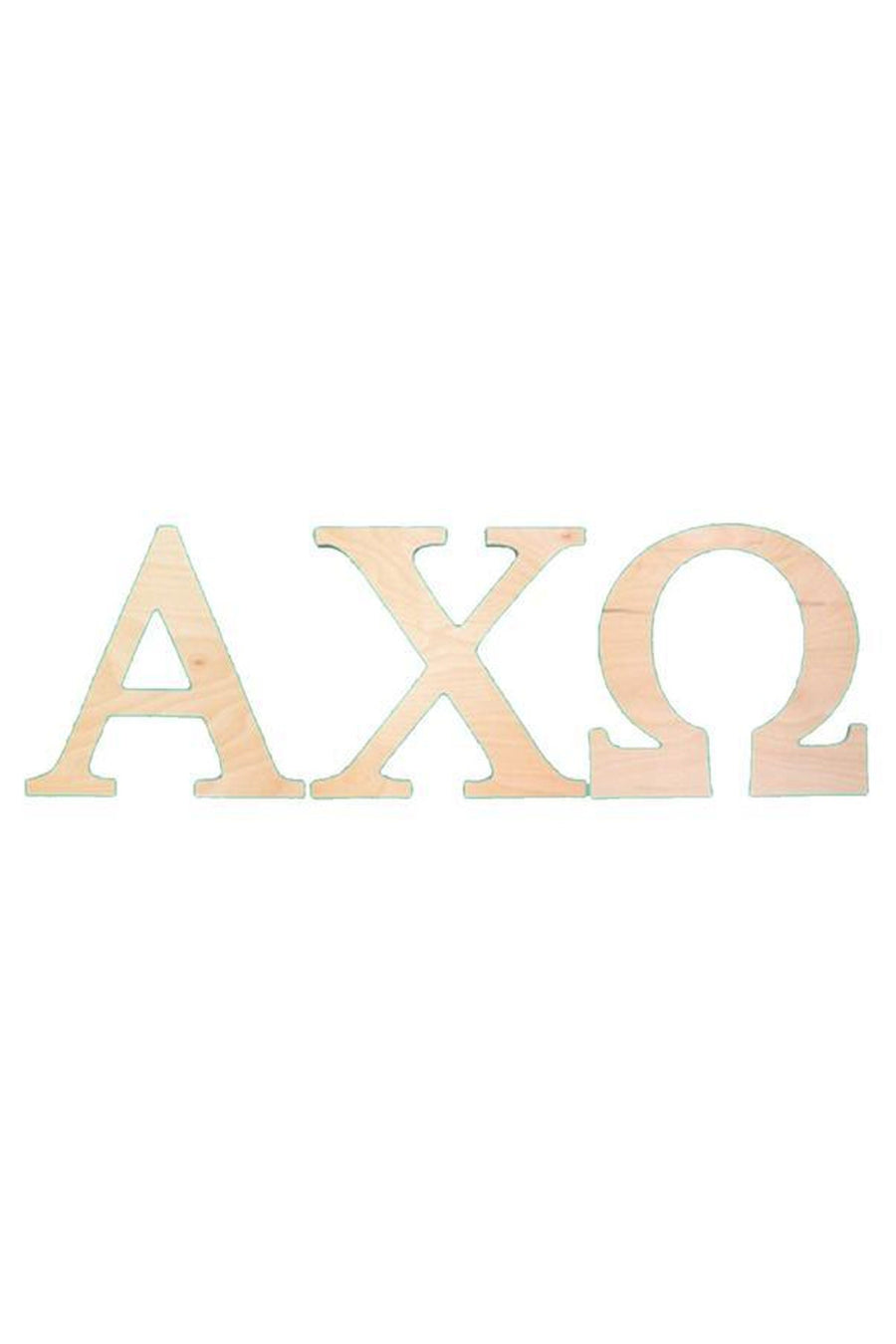 10 Inch Wooden Greek Letters, Home, Sunny and Southern, - Sunny and Southern,