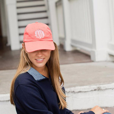 Monogrammed Monogrammed Baseball Hat - Sunny and Southern - 1