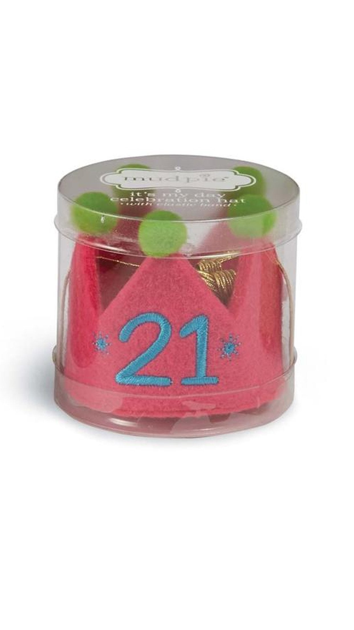 21 Birthday Crown Accessories Mud Pie