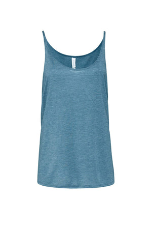 Greek Square Established Date Bella Canvas Slouchy Tank, Ladies, Sunny and Southern, - Sunny and Southern,