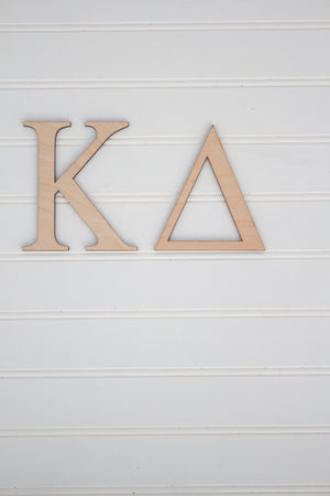 Wooden Greek Letters- Multiple Sizes, Home, Sunny and Southern, - Sunny and Southern,