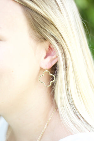 Addie Earrings Gold 1 Inch, Accessories, The Royal Standard, - Sunny and Southern,