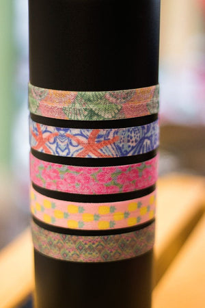 Patterned Hair Ties, , Sunny and Southern, - Sunny and Southern,