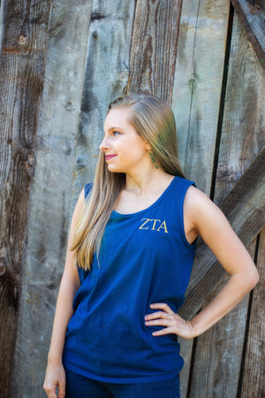 Greek Monogrammed Tank Top