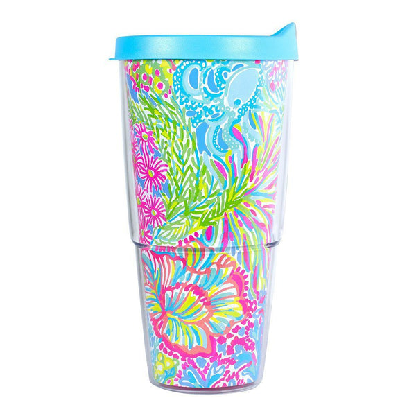 Monogrammed Monogrammed Lilly Pulitzer Double-Walled Tumbler - Sunny and Southern - 2