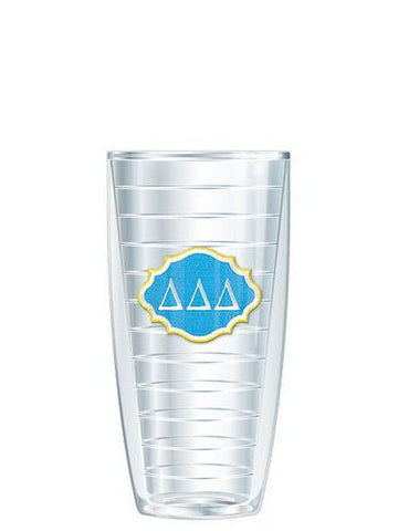 Monogrammed 22oz Super Traveler Tumbler Emblem - Sunny and Southern - 1