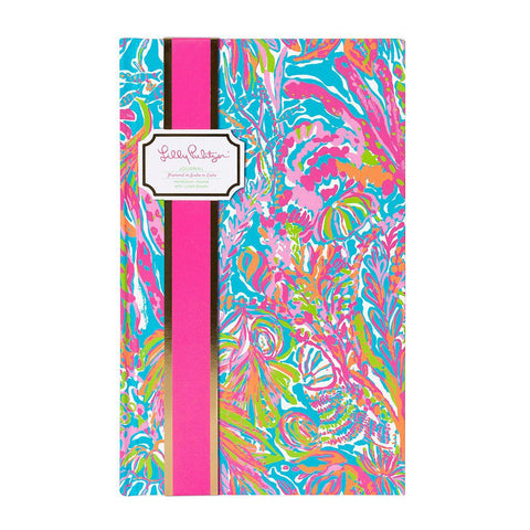 Monogrammed Lilly Pulitzer Monogrammed Journal - Sunny and Southern - 1