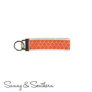 Classic Monogrammed Key Chain, Accessories, Sunny and Southern, - Sunny and Southern,