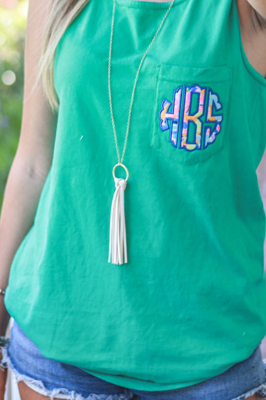 "Amie Tassel Necklace 34"", Accessories, The Royal Standard, - Sunny and Southern,"
