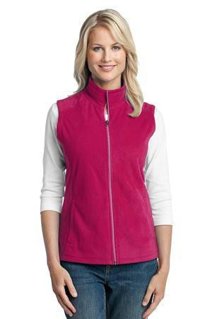 Classic Monogrammed Fleece Vest, Lades, sanmar, - Sunny and Southern,