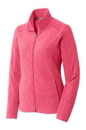 Lilly Circle Monogrammed Fleece Zip Up Jacket, Ladies, Sunny and Southern, - Sunny and Southern,