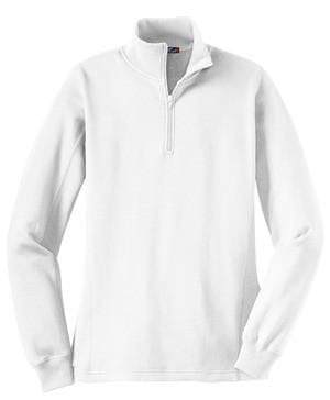 Classic Monogrammed Quarterzip Sweatshirt Jacket, Ladies, Sanmar/virg, - Sunny and Southern,