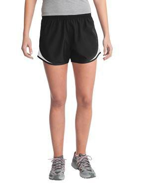 Monogrammed Running Shorts, ladies, sanmar, - Sunny and Southern,