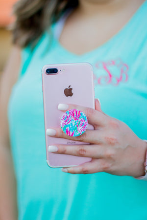 Monogrammed Designer Inspired Pop Sockets, Accessories, domil, - Sunny and Southern,