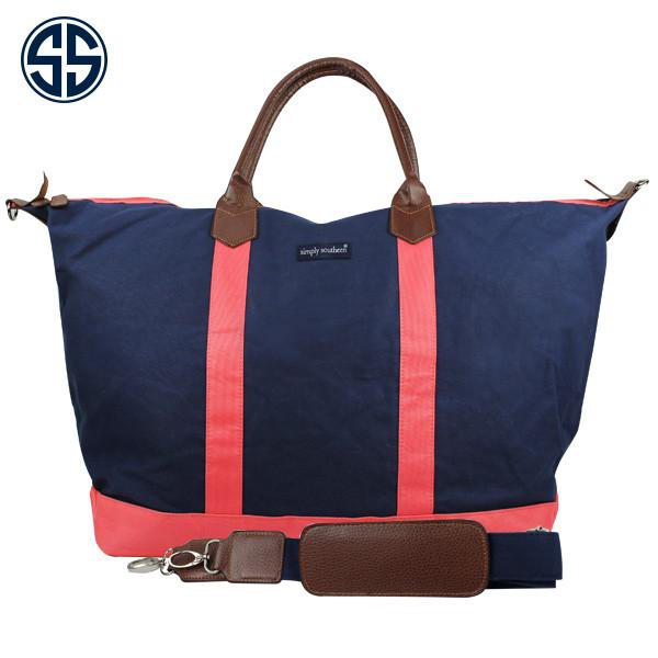 Monogrammed Monogrammed Weekender Simply Southern Tote Bag - Sunny and Southern - 1