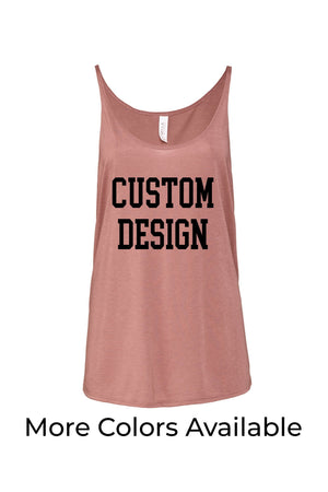 Custom Designed Shirt Bella Canvas Slouchy Tank, Ladies, Sunny and Southern, - Sunny and Southern,