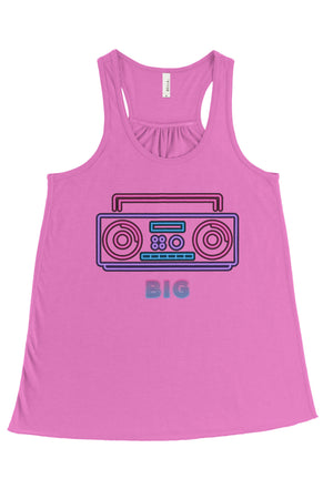 Down to Disco Big Little Bella Canvas Flowy Racerback Tank, Ladies, Sunny and Southern, - Sunny and Southern,