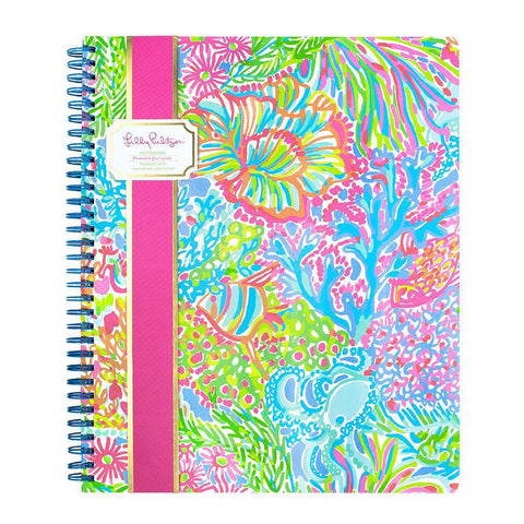 Monogrammed Lilly Pulitzer Monogrammed Large Notebook - Sunny and Southern - 1