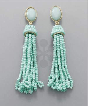 Tassel Earrings- Multi Color, Accessories, Sunny and Southern, - Sunny and Southern,