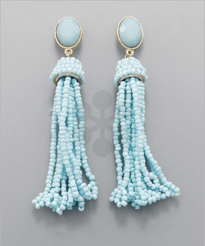 Tassel Earrings - Multi Color, Accessories, Sunny and Southern, - Sunny and Southern,