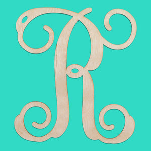 Single Initial Wood Monogram, Home, WB, - Sunny and Southern,