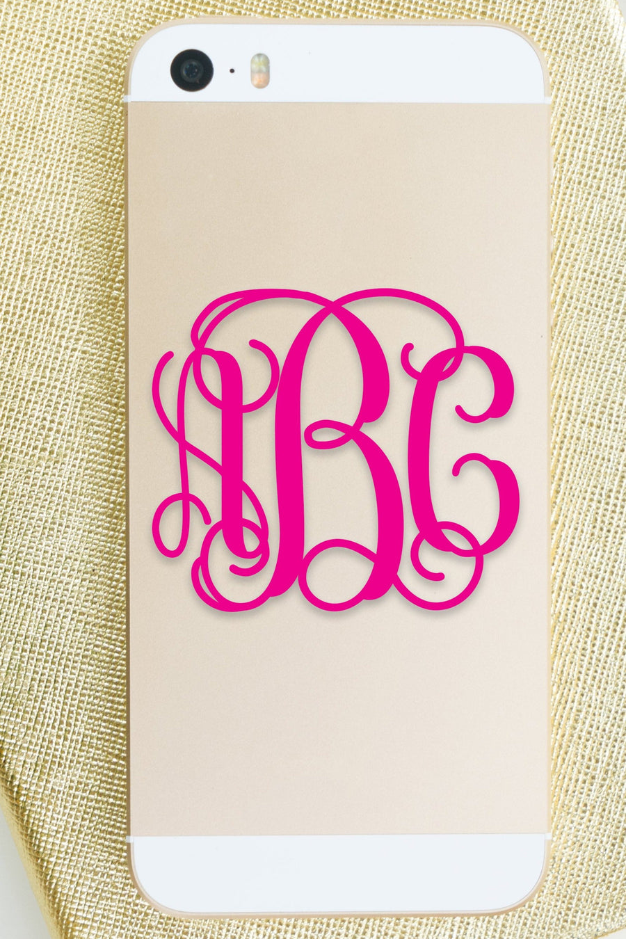 Monogrammed Vinyl Decal, accessories, Sunny and Southern, - Sunny and Southern,