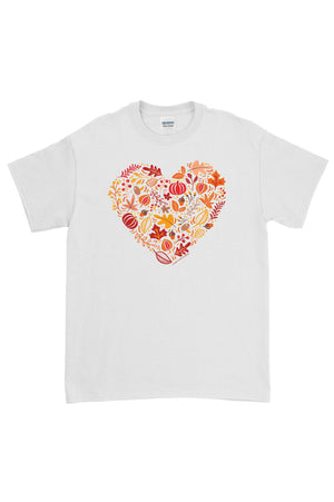Everything Fall Heart Gildan Short Sleeve, Ladies, Sunny and Southern, - Sunny and Southern,