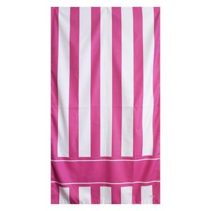 Monogrammed Bermuda Stripe Beach Towel, Accessories, The Royal Standard, - Sunny and Southern,