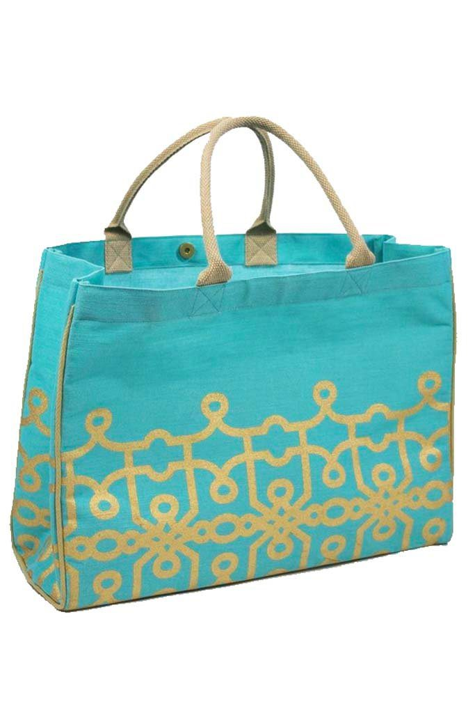 Classic Monogrammed Florence Glamour Juco Bag, Accessories, The Royal Standard, - Sunny and Southern,