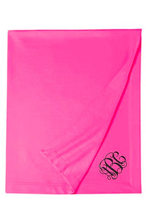 Classic Monogrammed Embroidered Stadium Blanket, Accessories, Sanmar/virg, - Sunny and Southern,
