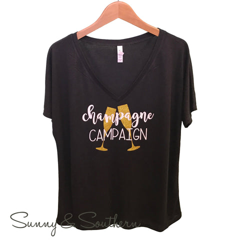 Champagne Campaign- Bridesmaid Shirts
