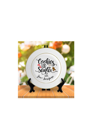 Cookies for Santa Plate, Home, Sunny and Southern, - Sunny and Southern,