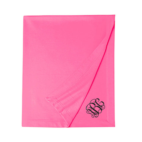 Monogrammed Monogrammed Stadium Blanket - Sunny and Southern - 1