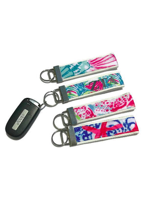 Classic Monogram Designer Inspired Key Chain, Accessories, domil, - Sunny and Southern,