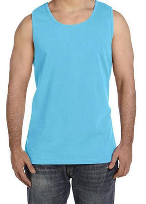 Custom Designed Shirt Comfort Colors Tank Top, Material, Blank, - Sunny and Southern,