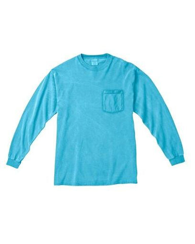 Monogrammed Lilly Pulitzer Bow Monogrammed Long Sleeve Pocket Tee - Sunny and Southern - 2