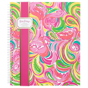 Lilly Pulitzer Monogrammed Large Notebook, accessories, Lilly Pulitzer, - Sunny and Southern,