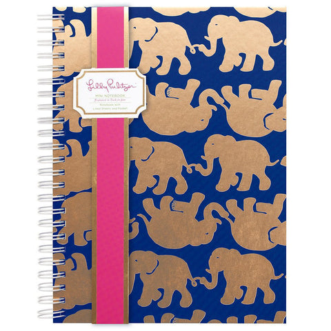 Monogrammed Lilly Pulizter Monogrammed Mini Notebook - Sunny and Southern - 1